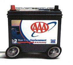 Emergency roadside technician/AAA Battery service (Henrietta)