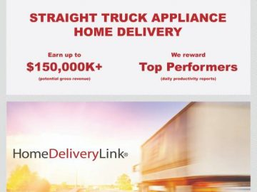$1500 Sign On : Appliance Home Delivery : 26' Box Truck