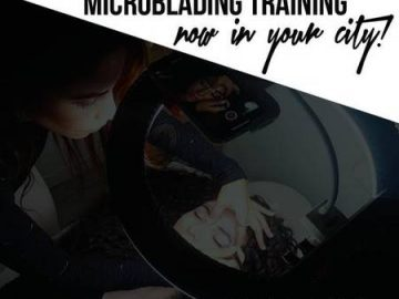 *** GET CERTIFIED IN MICROBLADING *** (Rochester)