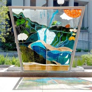 Glass art example